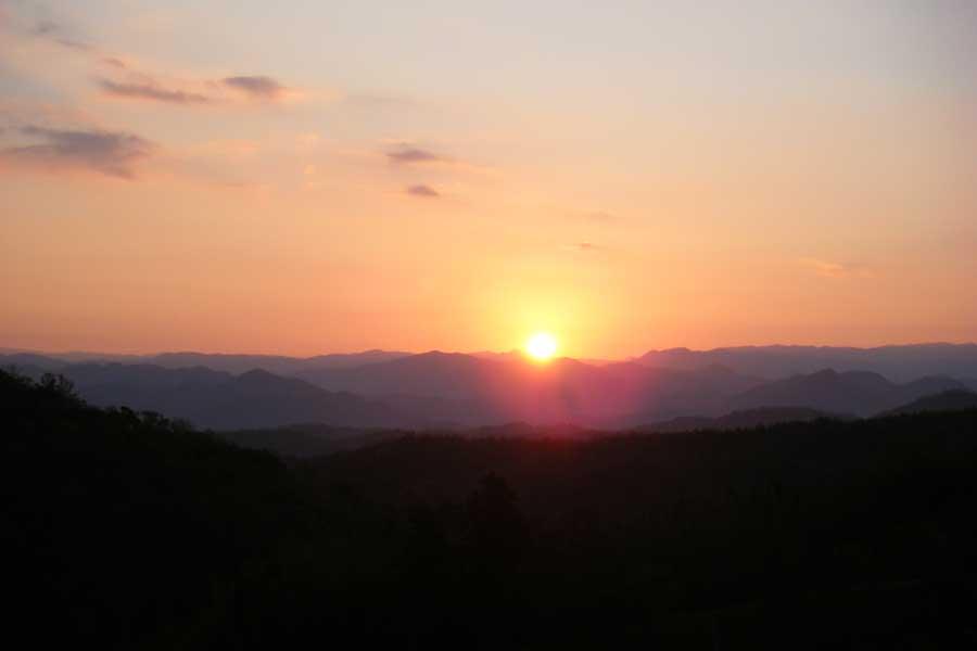 大道山(打歌山)初日遥拝登山