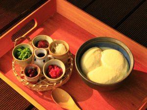 薬膳豆腐づくり&歴食「はむ」を食す〔体験プログラム〕  萬福寺 | 益田市 | 島根県 | 日本